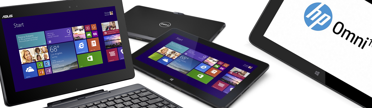 Dell Venue 11 Pro vs Asus T100 vs HP Omni 10