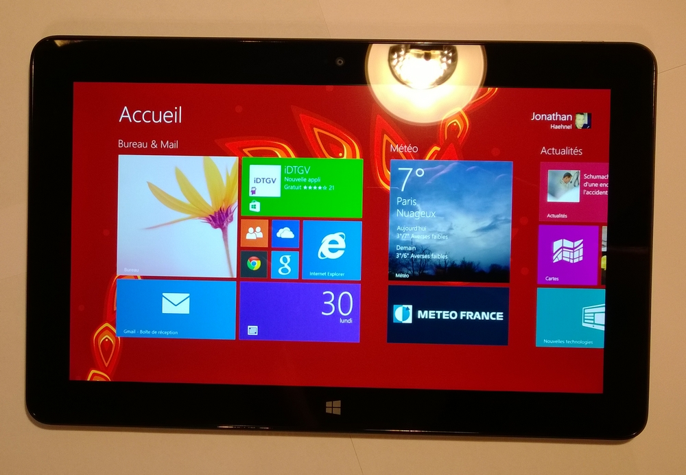 Photo de la Dell Venue 11 Pro