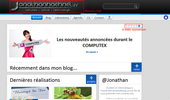 Acceuil du site - Version 1.1