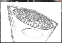 Visualisation des apparents ridges